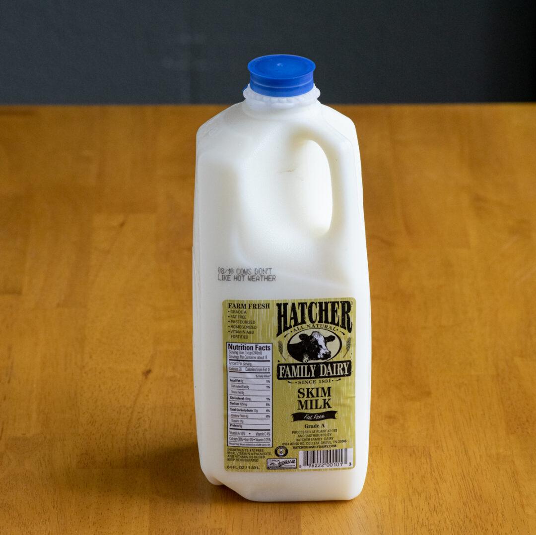 Hatcher Skim Milk