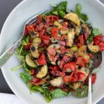 Summery Grilled Zucchini Salad