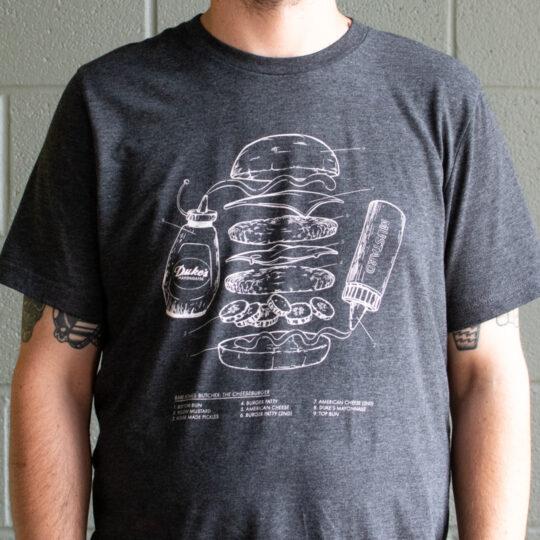 Cheeseburger Blueprint T-Shirt